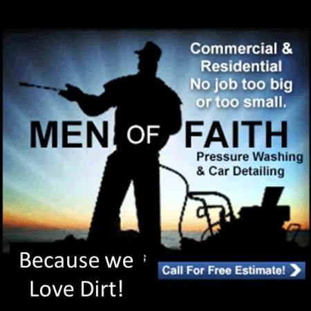Men Of Faith Pressure Washing LLC - Savannah, GA