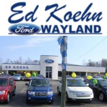 Ed Koehn Ford Of Wayland