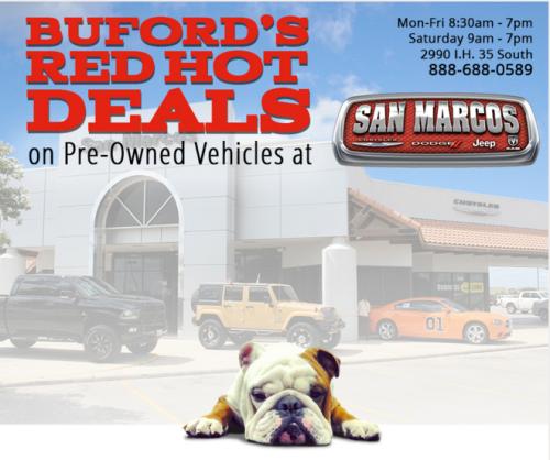 San Marcos Chrysler Dodge Jeep RAM - San Marcos, TX