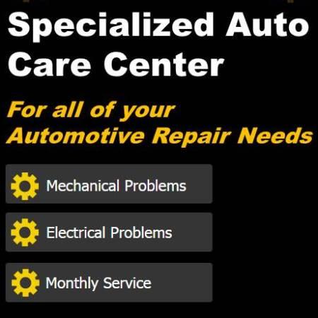 Specialized Auto Care Center - Redwood City, CA